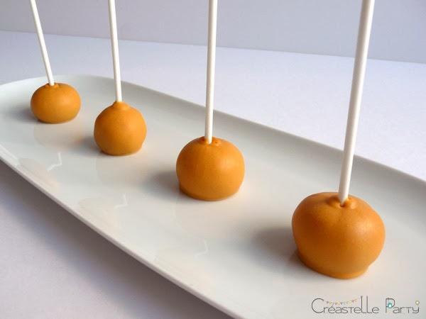 cake pops citron nappage