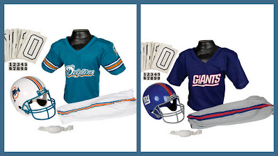 Miami Dolphins Football Costume, Giants Football Costume, Quality Football Costumes