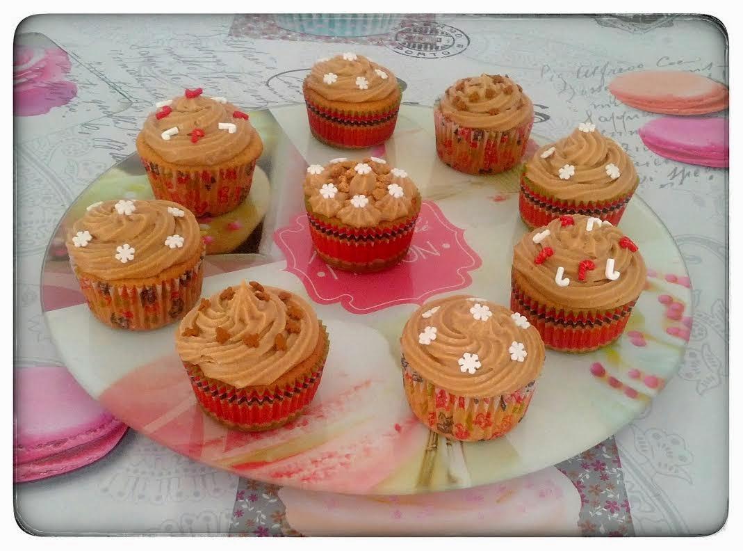Recette de cupcakes au speculoos