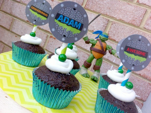 Cupcake Wishes Birthday Dreams Party Recap Teenage Mutant