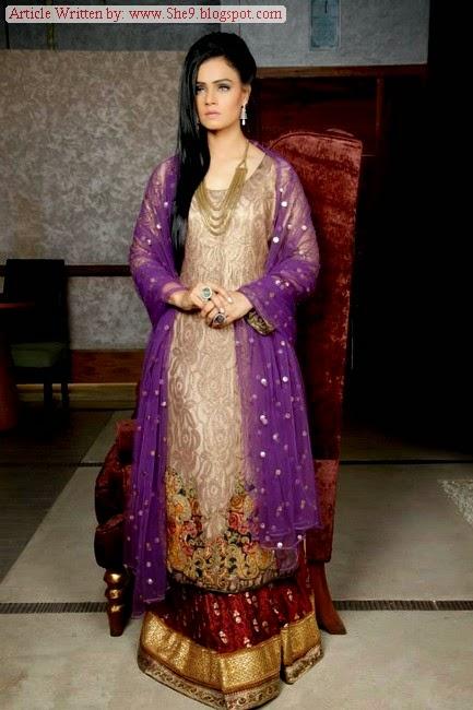 Sufiyana by Braahtii – Huma Nassr- Pakistani Designer Suits