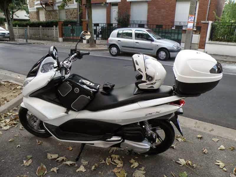 Modifikasi Honda PCX 125 Putih