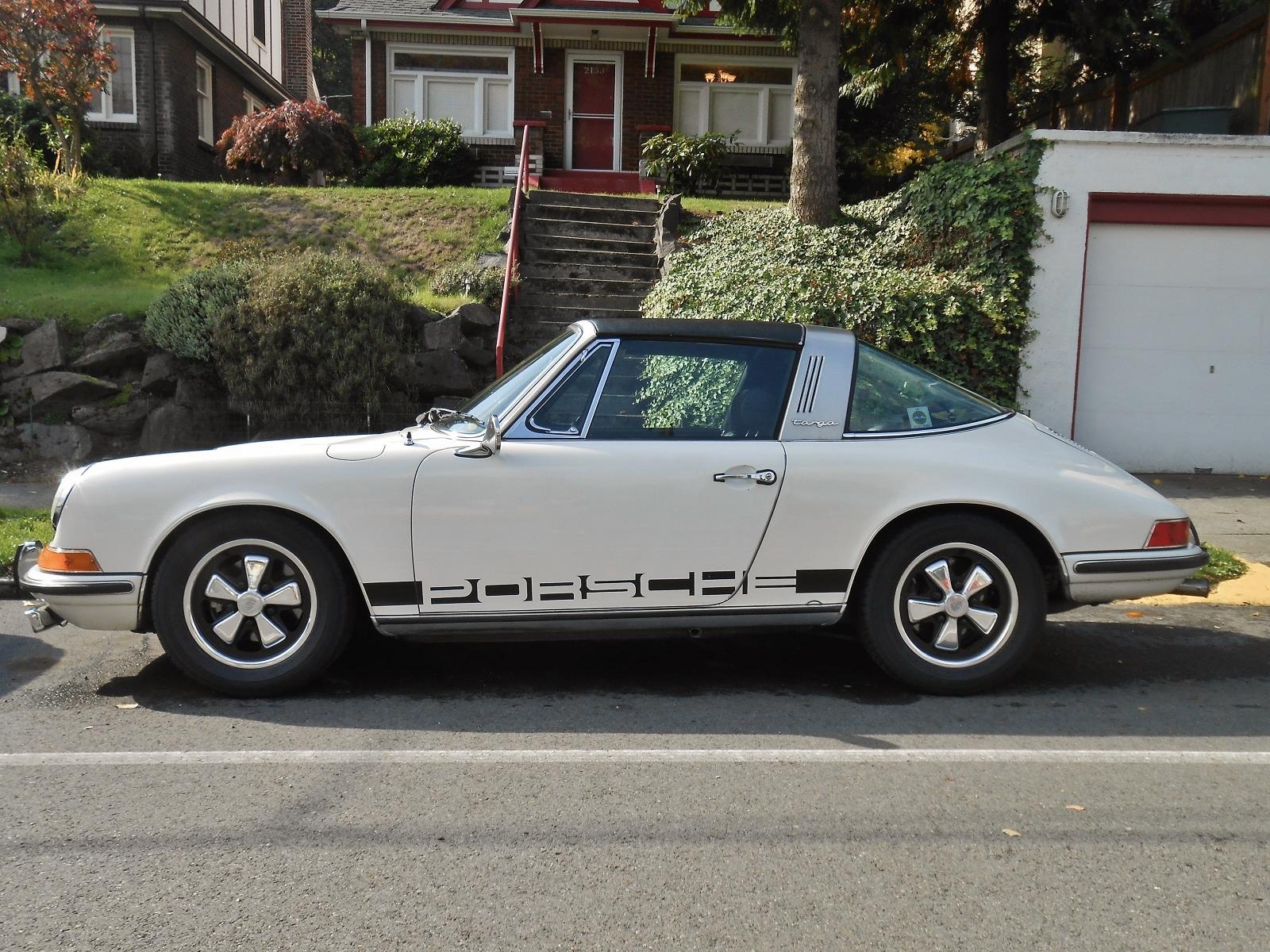 Seattle S Parked Cars 1970 Porsche 911e Targa