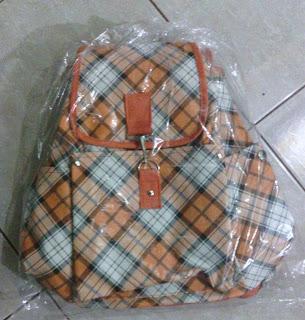 tas wanita warna orange