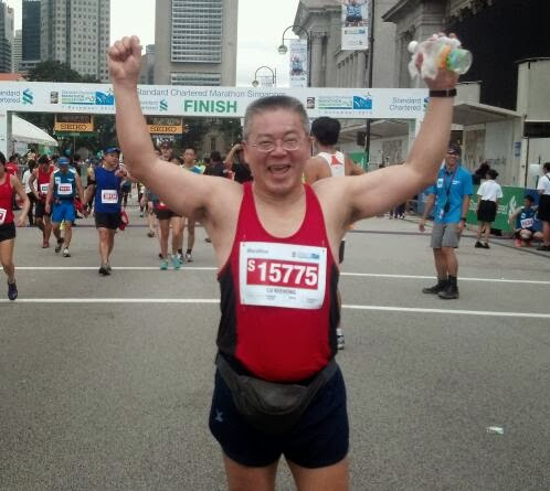 Lu's Marathon on 1 Dec 2013