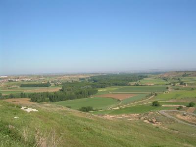 Vistas desde el Castillo de Haza