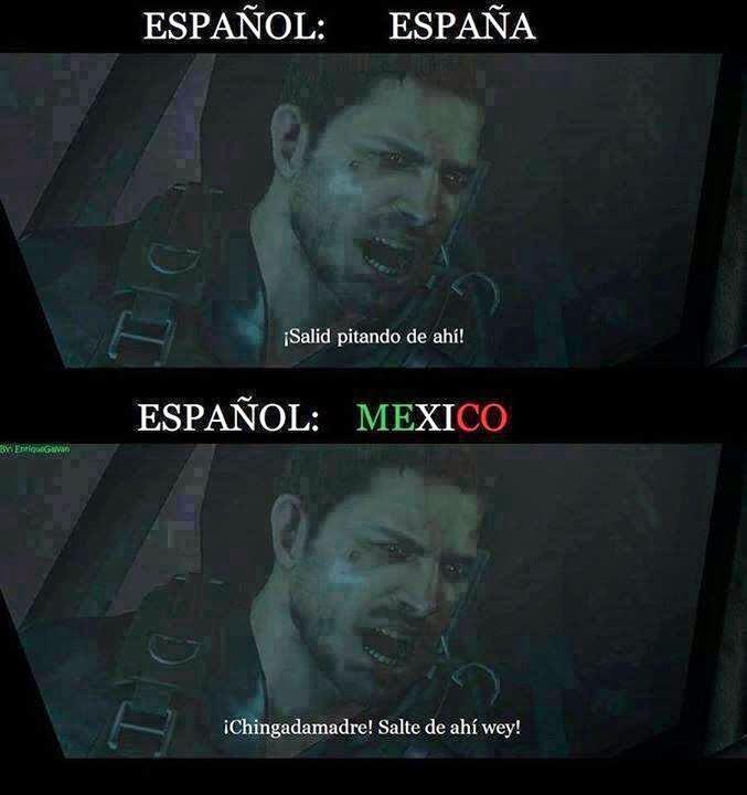 ¿Y como sería en el español de tu país?