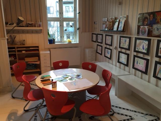 Dr. brandts barnehage: inspirerende rom til lek, trivsel og læring