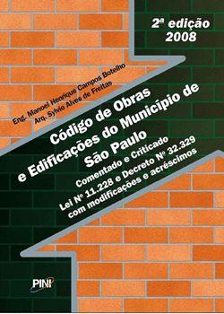 c%25C3%25B3digodeobraeedifa%25C3%25A7%25C3%25B5esdominiciodes%25C3%25A3opaulo Download   Código de Obras e Edificações do Município de São Paulo   2ª Edição
