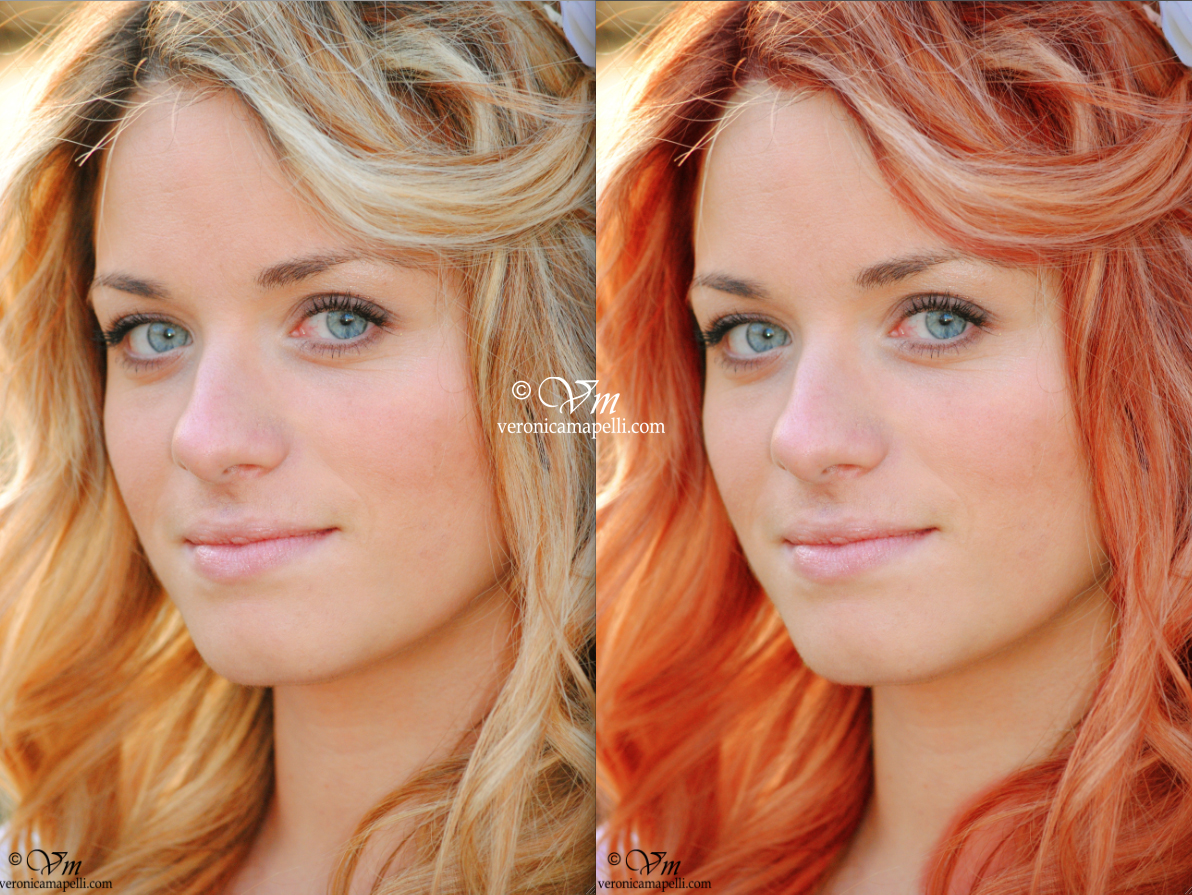 Veronica mapelli photography tutorial photoshop date una - Tinta su capelli bagnati o asciutti ...