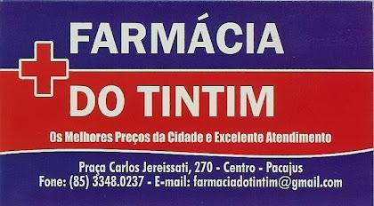 FARMÁCIA DO TINTIM