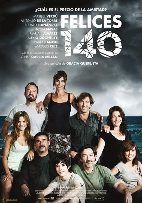 Cartel de Felices 140 (Gracia Querejeta, 2015)