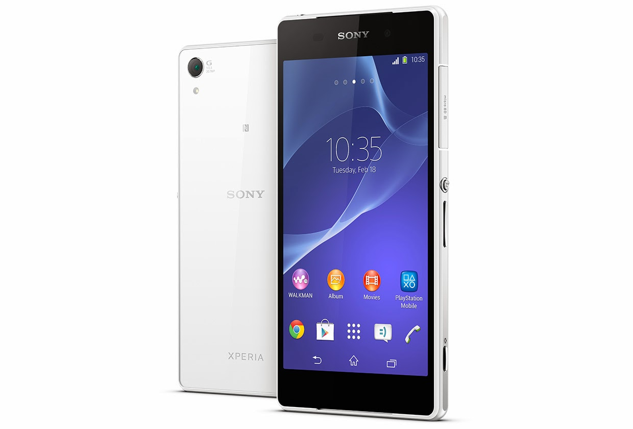Sony officially annonced the Xperia Z2 with 4K video capture.