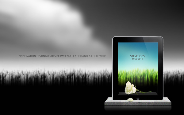 zialcita 20 Awesome Graphical Tributes to Steve Jobs