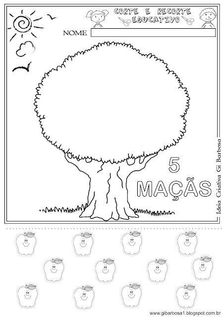 Atividade Matemática Dia da Árvore