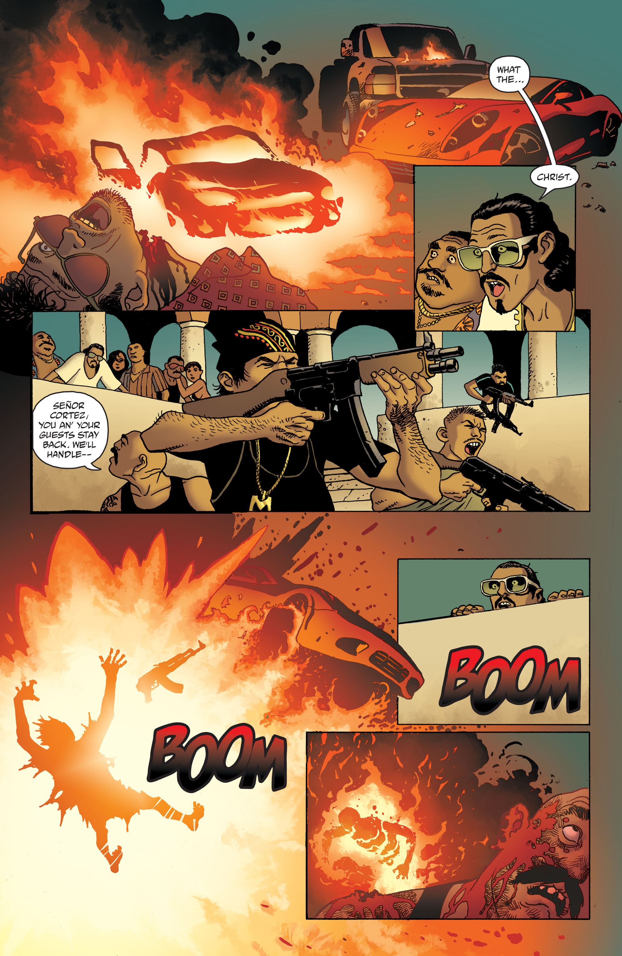100 Bullets: Brother Lono Full Page 173