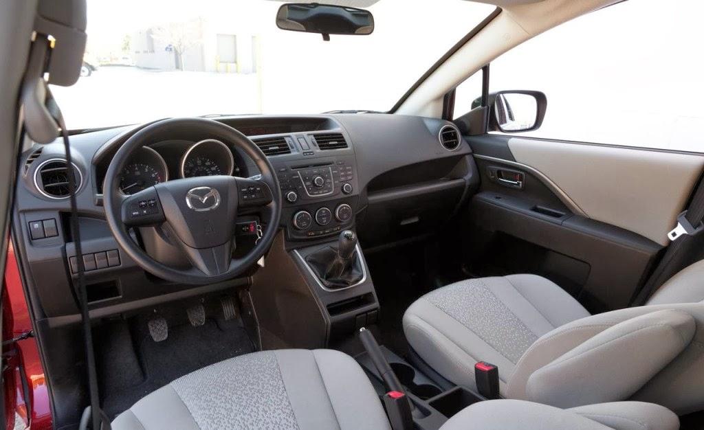 Mazda 5 2012 Sport Interior