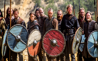VIKINGS 4ª TEMPORADA E EDITORIAL: