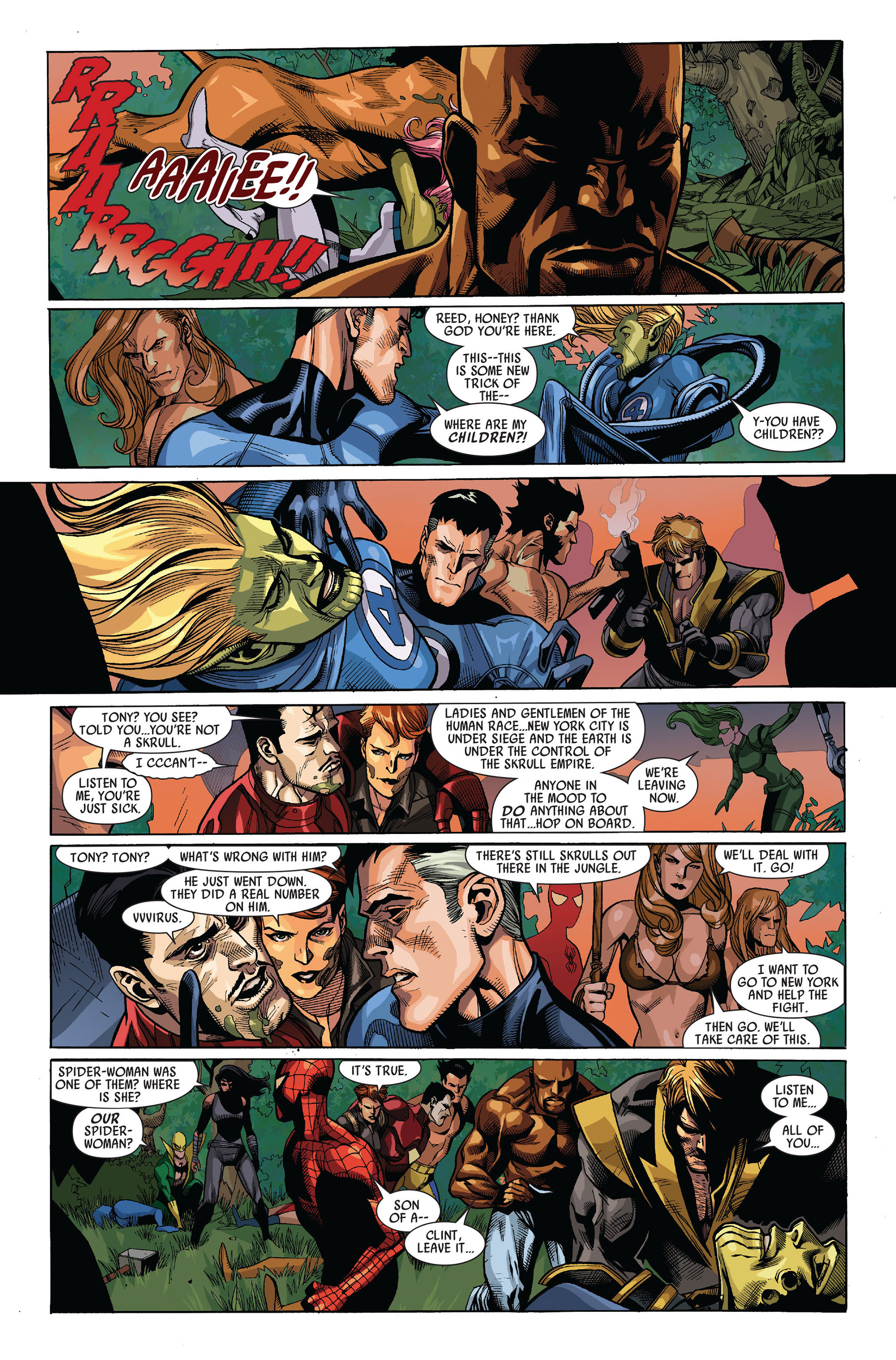 Read online Secret Invasion comic -  Issue #5 - 22