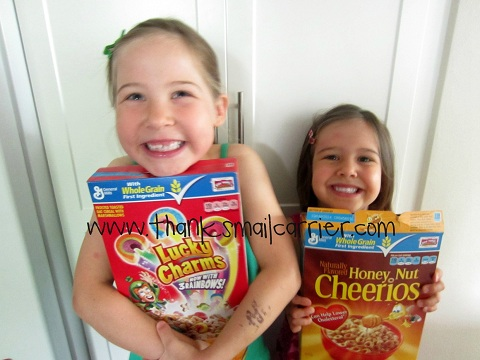 kids love cereal