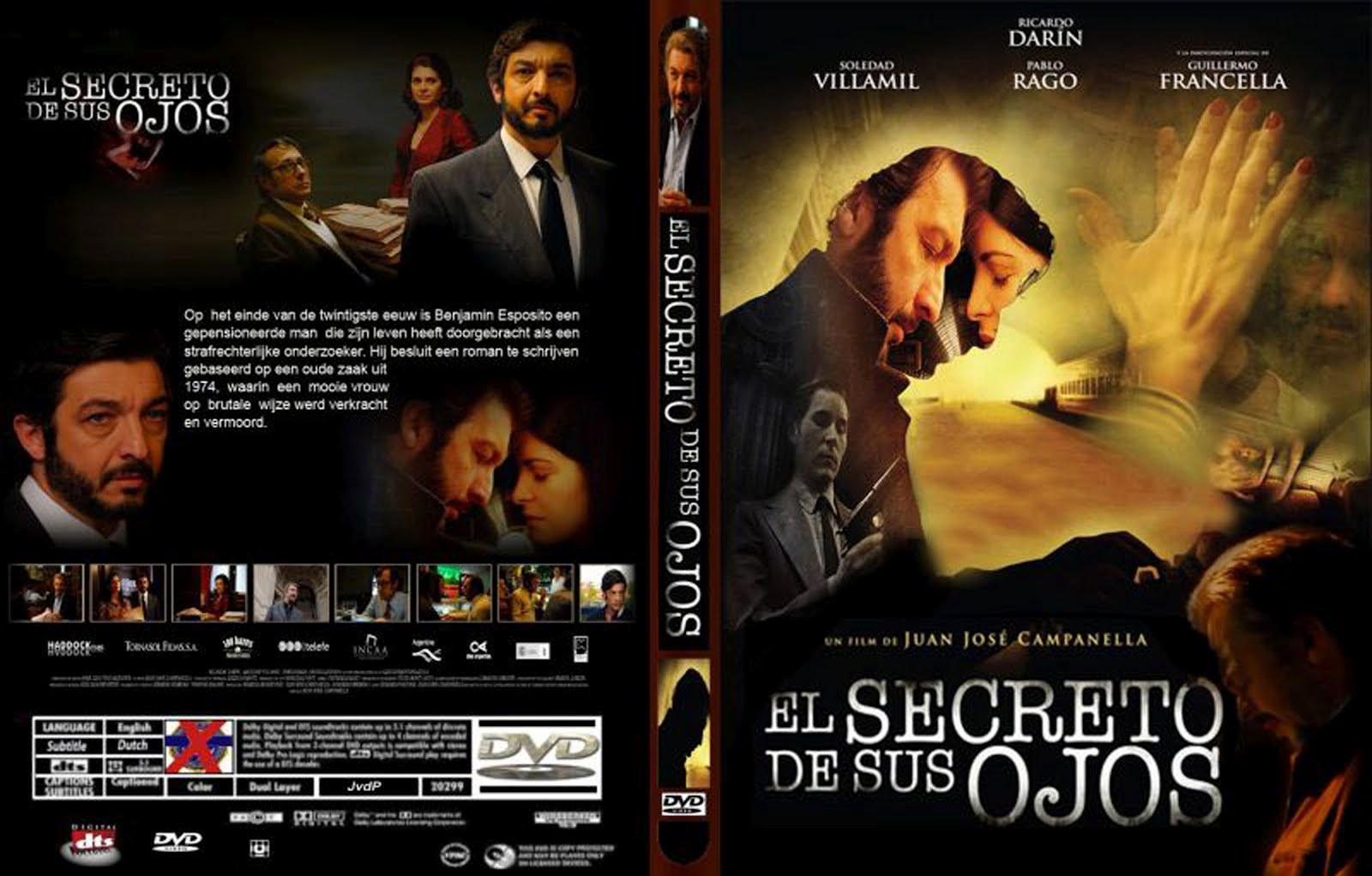 The Secret in Their Eyes Dvd Disk Cover