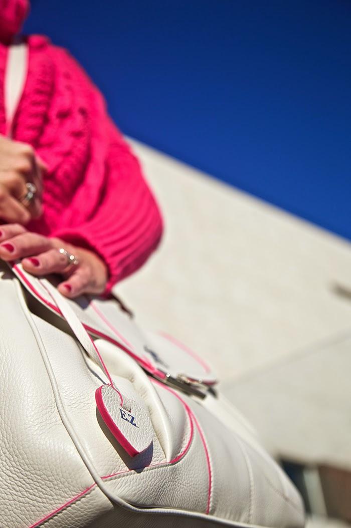 borsa personalizzata con cifre