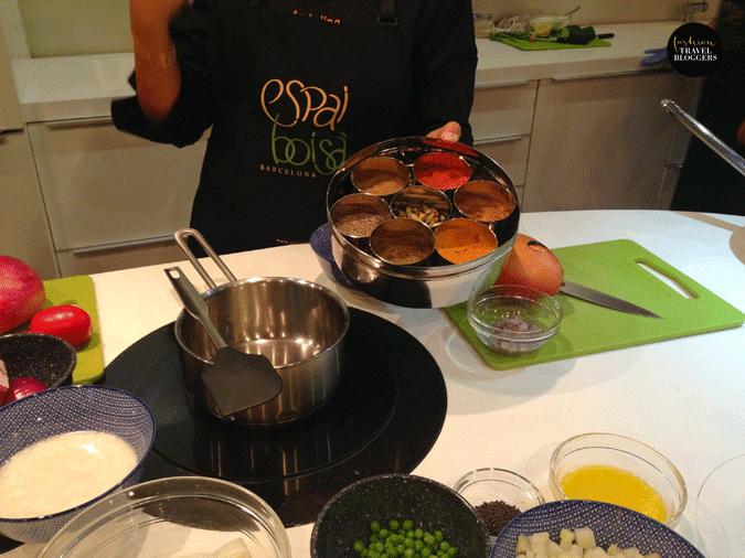 Experiencia en la escuela de cocina espai bois fashion - Escuela cocina barcelona ...