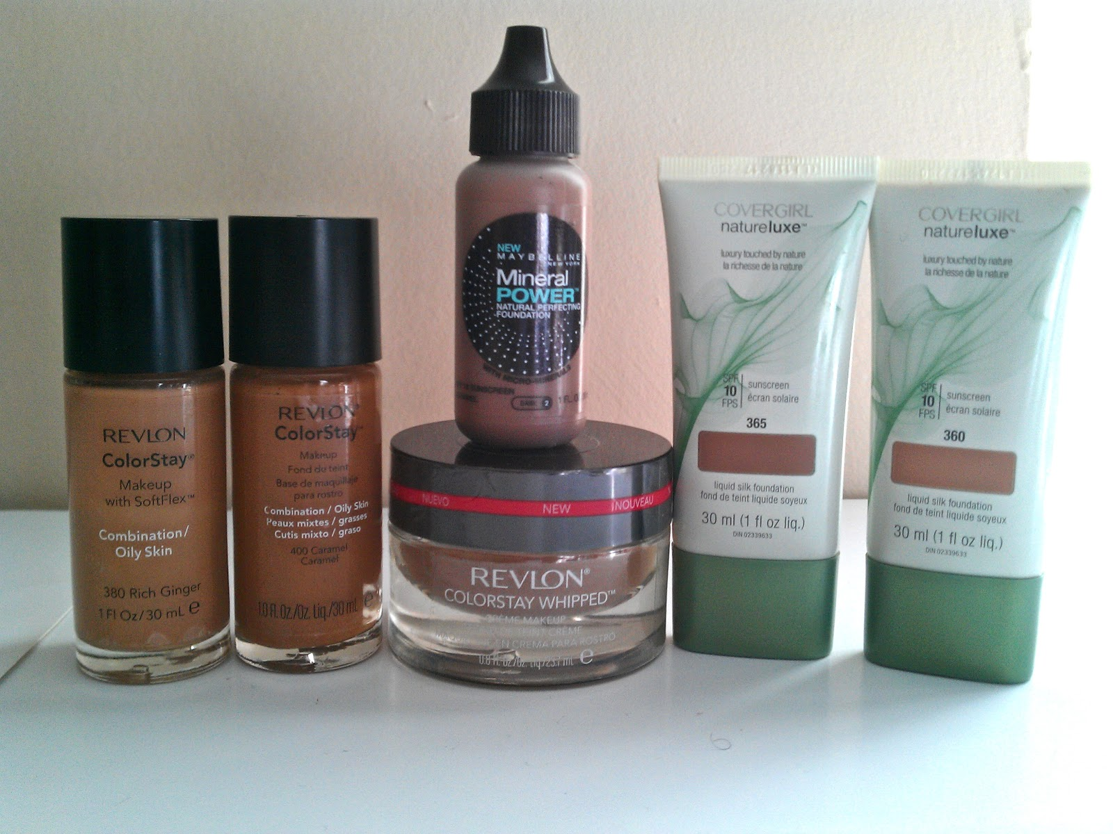 Former Beauty Hoarder: My Stash: Foundations
