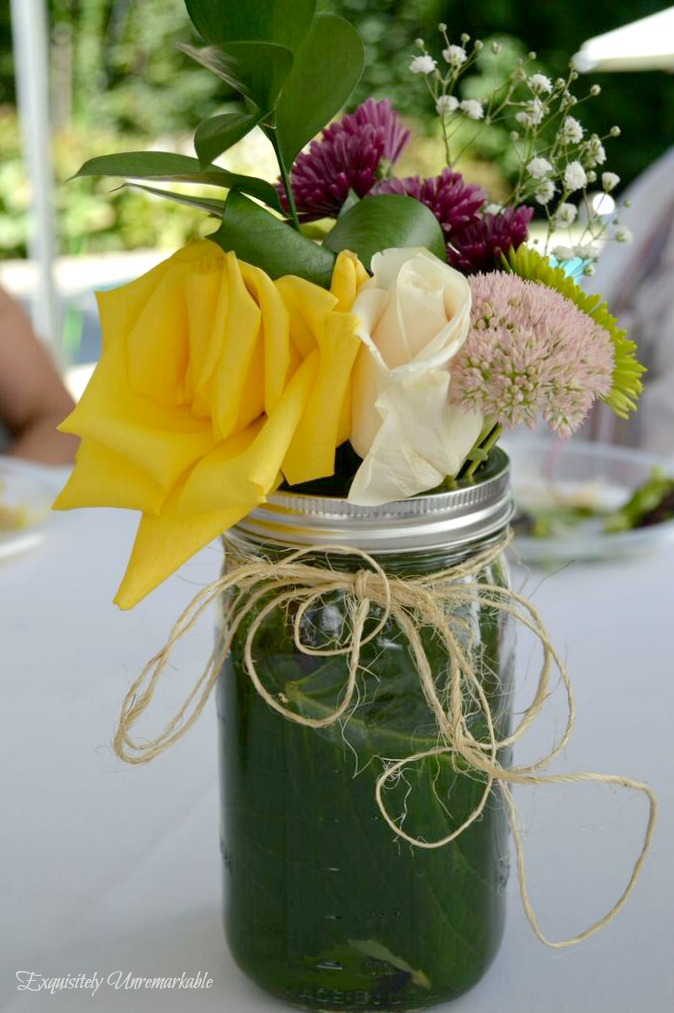 Easy And Inexpensive Summer Floral Arrangements