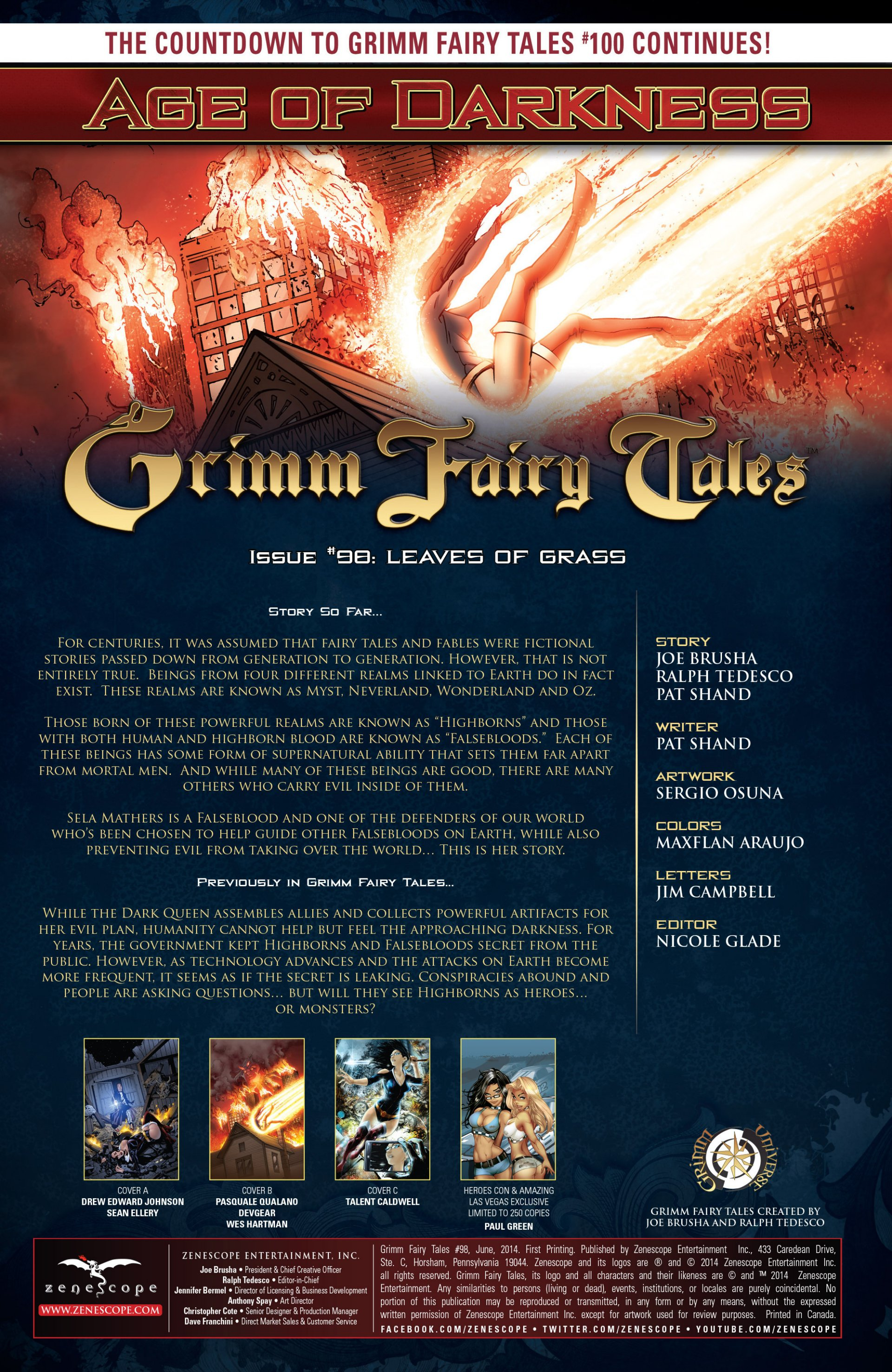 Grimm Fairy Tales (2005) Issue #98 #101 - English 2