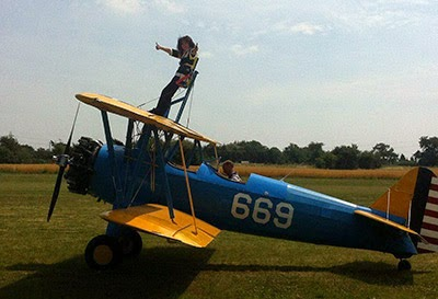Dawnie Cassidy is doing a wing walk at 130mph for Cats Protection