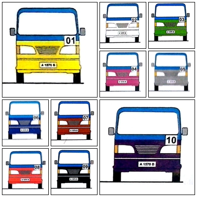 [Info] Daftar Pembagian Trayek Angkutan Umum Kota Serang