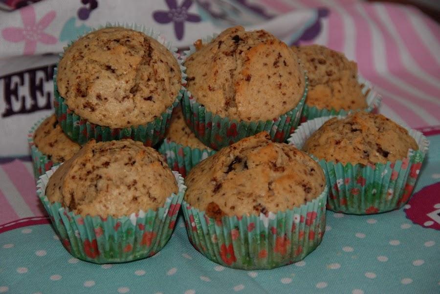 Muffins tres chocolates y bayleis cocina for Menaje de cocina definicion