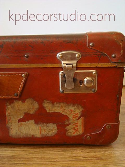 Venta de maletas antiguas para decoración