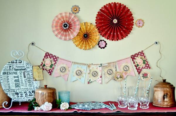 Party Scene by Denise van Deventer using Juliet Party Supplies