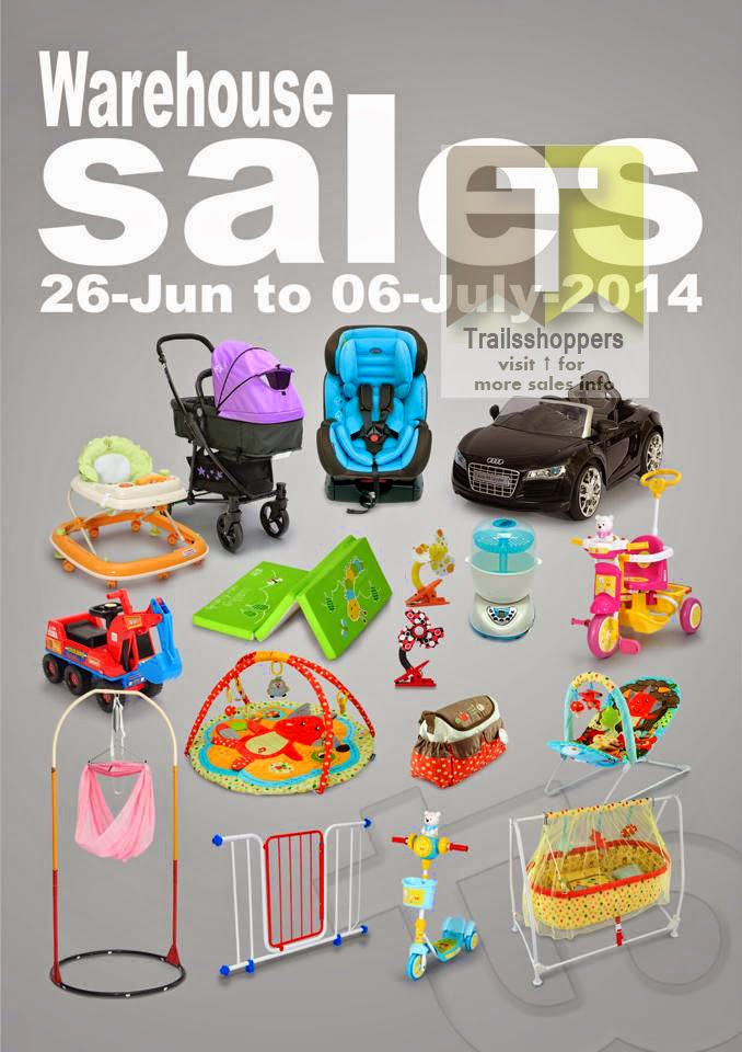 MY DEAR Baby & Children Products Warehouse Sale 2014