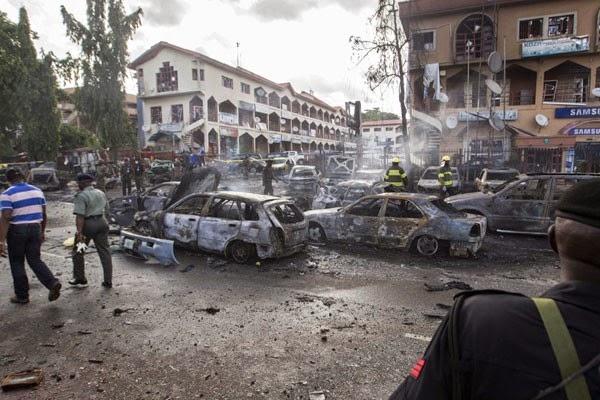 Bom bunuh diri tewaskan 13 orang di pasar Nigeria