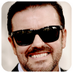 Follow @rickygervais on Twitter