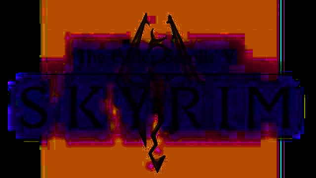 new skyrim logo 2012   skyrim pictures