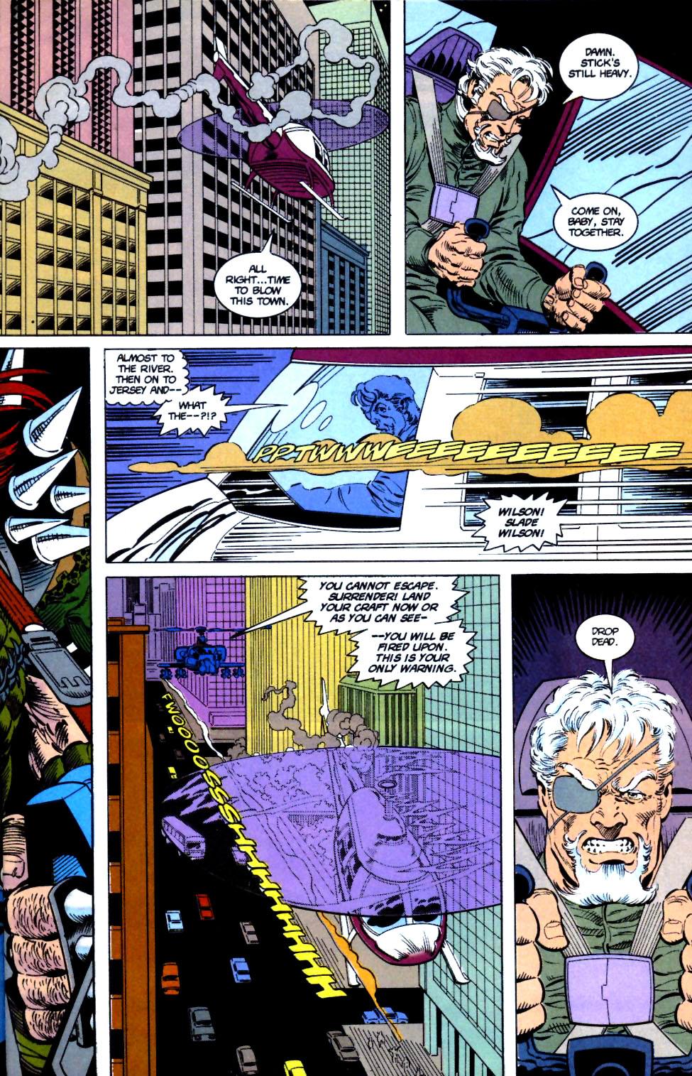 Deathstroke (1991) Issue #16 #21 - English 9