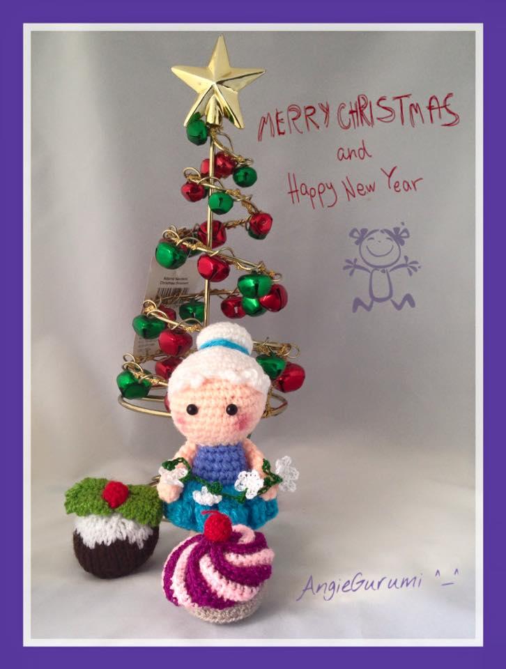 Amigurumis Navidad 2015 : Amigurumi diy by angiegurumi postales