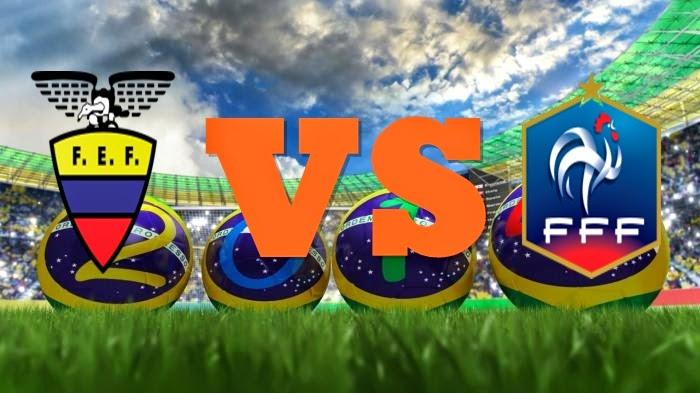 Prediksi Skor FIFA World Cup Terjitu Ekuador vs Prancis jadwal 26 Juni 2014