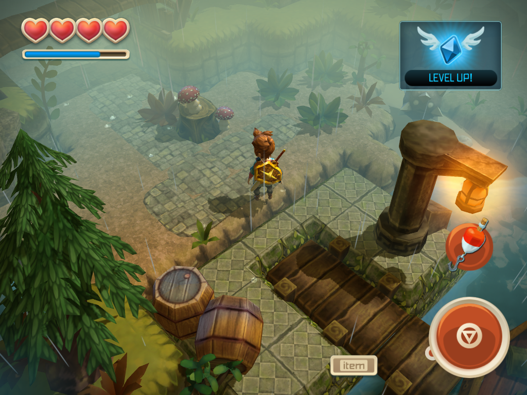 Oceanhorn Adventure Update Preview