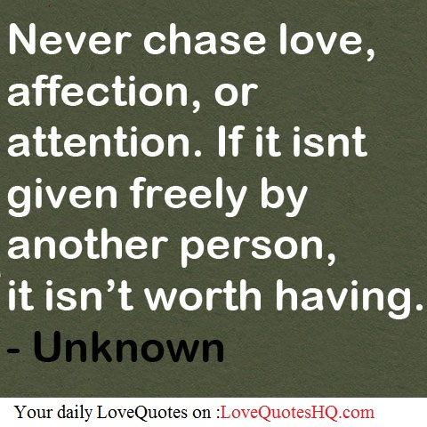 attention relationship quotes quotesgram