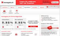 homegate.ch erweitert sein Angebot mit Online-Hypothek