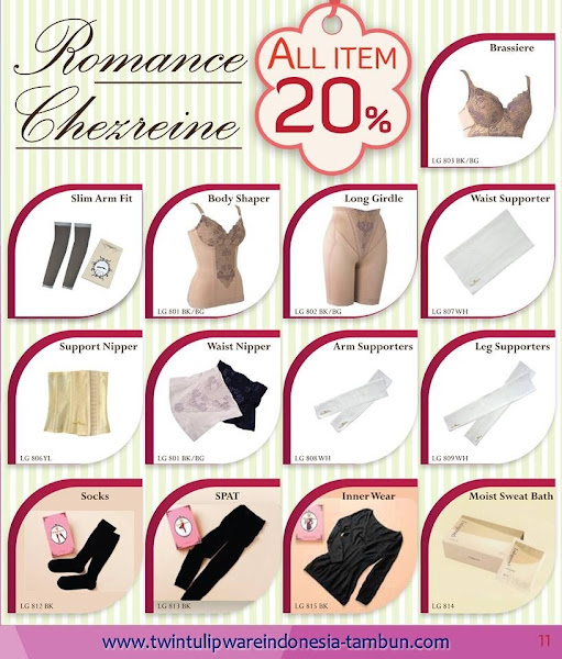 Romance Chezreine Diskon 20% Januari 2016