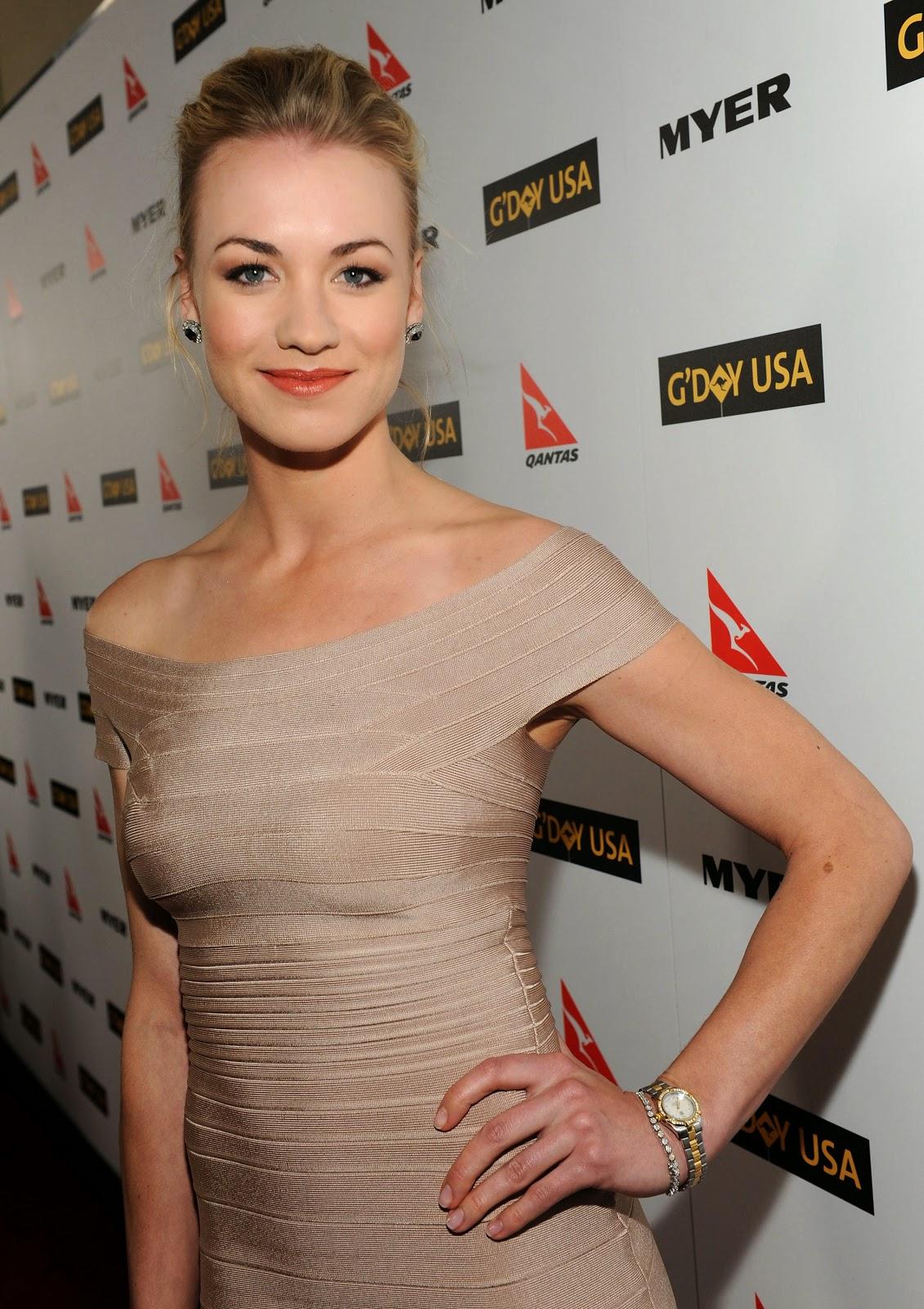Australian actress Yvonne Strahovski HD Pictures