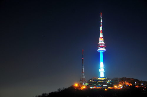 N Seoul Tower View Suraflin Blog