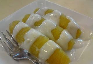 กล้วยเชื่อม _Bananas in Syrup_バナナのシロップ漬け