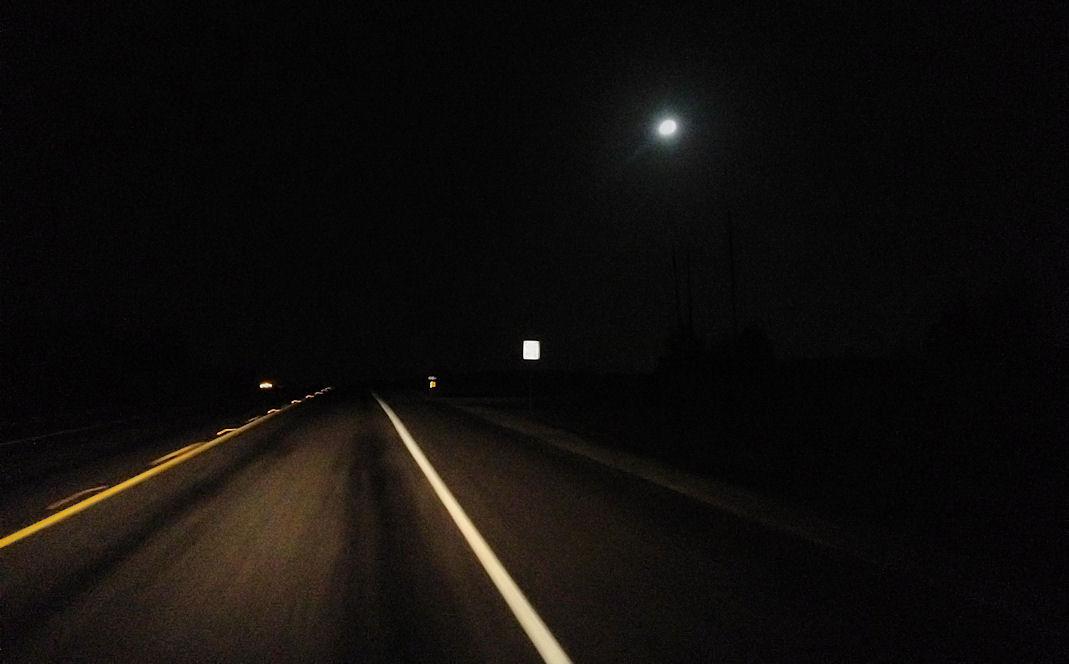 Terrell Daily Photo: Dark Country Road